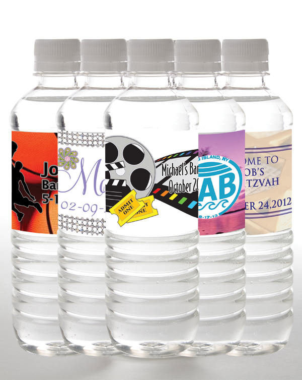 Bar and Bat Mitzvah water bottles | personalized