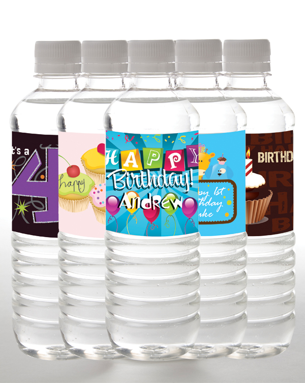 Birthday water bottles | personalized