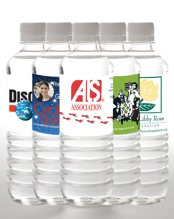 Charity and Fundraiser water bottles | personalized
